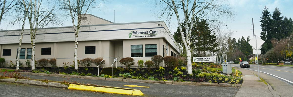 Womens Care Eugene office